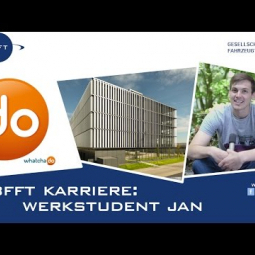 BFFT Karriere - Werkstudent Jan im Interview
